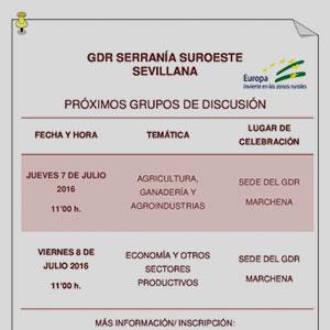 Comienzan los Grupos de Discusión Temáticos en la Serranía Suroeste Sevillana